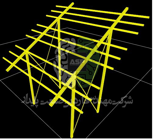 سازه پنل خورشیدی