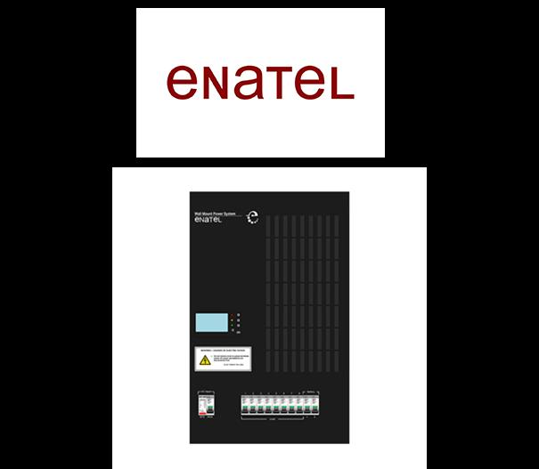 سیستم تغذیه wallmount enatel